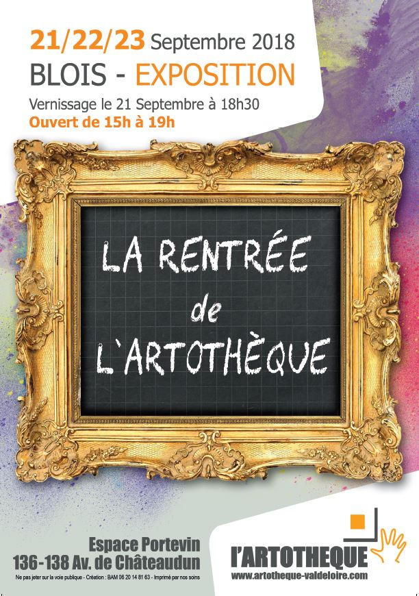 affiche expo larentree 2018